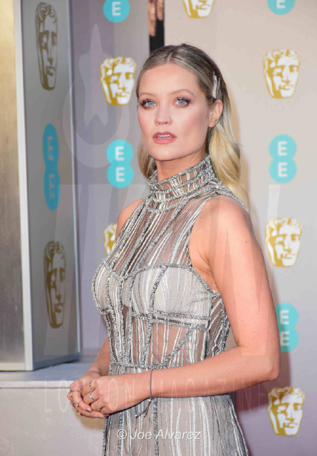 Laura Whitmore EE British Academy Film Awards 2019 © Joe Alvarez