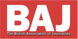 BAJ British Association of Journalists Logo