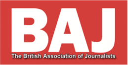 BAJ British Association of Journalists Logo