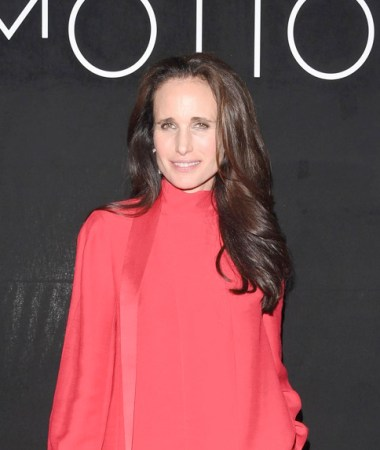 Andie McDowell at the Kering Women in Motion Awards 2019