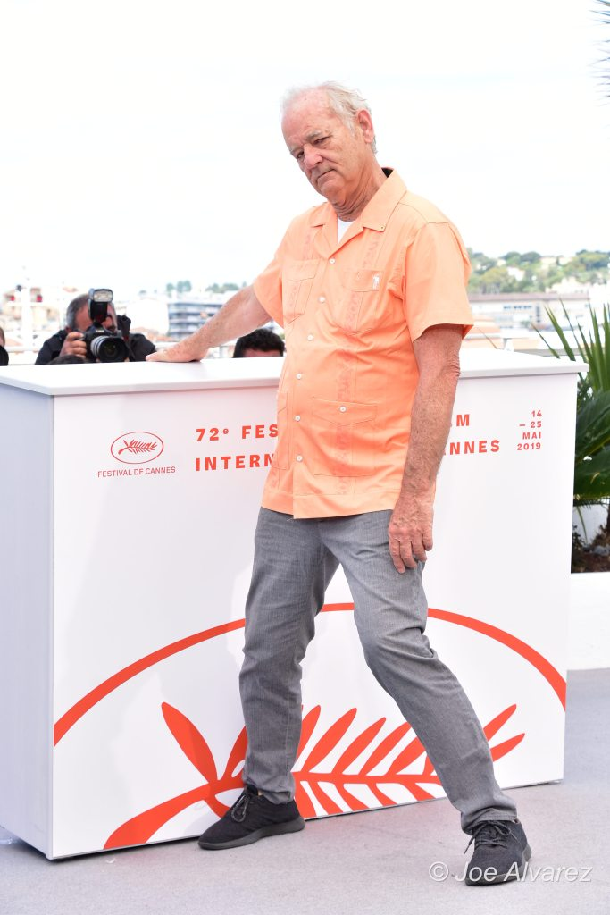 Bill Murray The Dead Don't Die photo call - Cannes © Joe Alvarez