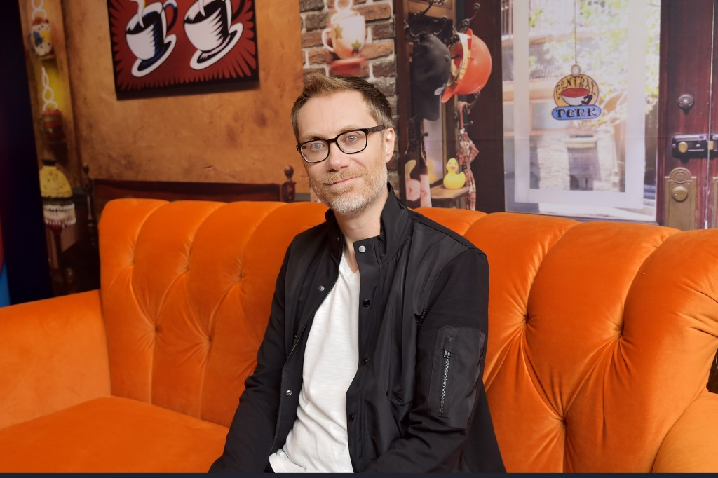 TORONTO, ONTARIO - SEPTEMBER 07: Stephen Merchant stops by AT&T ON LOCATION during Toronto International Film Festival 2019 at Hotel Le Germain on September 06, 2019 in Toronto, Canada. (Photo by Stefanie Keenan/Getty Images for AT&T)