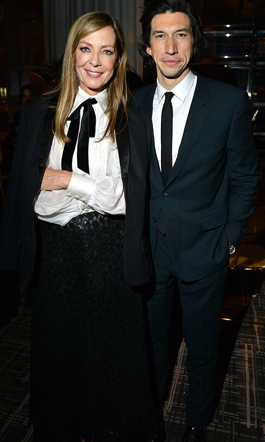 Alisson Janney, Adam Driver Photo Getty for The Holywood Reporter