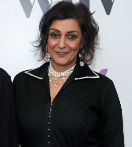 Meera Syal in the winners room at the Women in Film and TV Awards 2019 at Hilton Park Lane on December 06, 2019 in London, England. (Photo by David M. Benett/Dave Benett/Getty Images for Women in Film and TV)