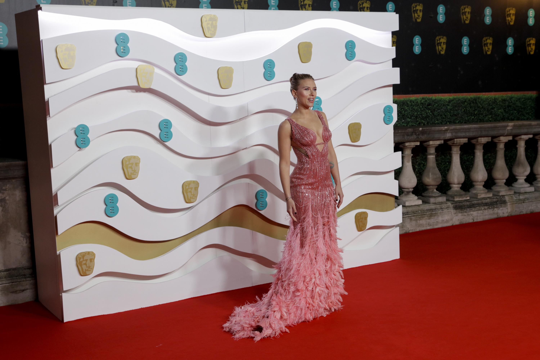 Scarlett Johansson. Photo courtesy of BAFTA