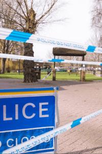 Salisbury Police Tape Novichok