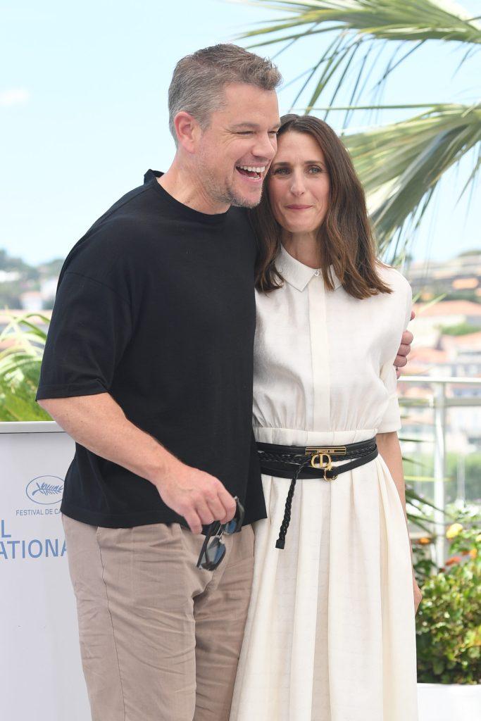 Matt Damon and Camille Cottin © Rune Hellestad