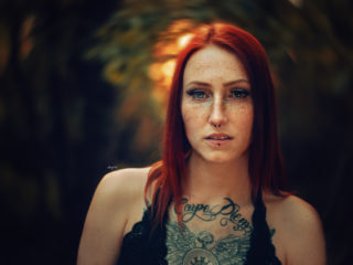 Justine Sommersprossen