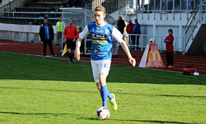 Andreas Bergman i hemmamatchen mot Lund 2015. FOTO: Susann Sannefjäll