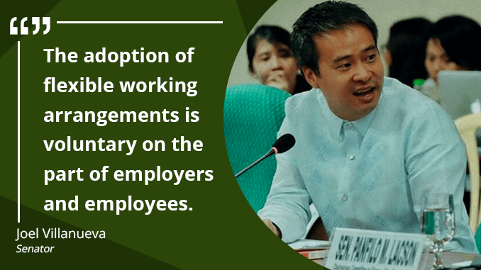 Flexible Working Arrangements to Become an Option – VILLANUEVA