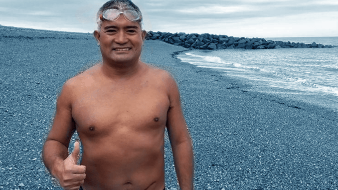 The Philippines' Leading Open Water Swimmer