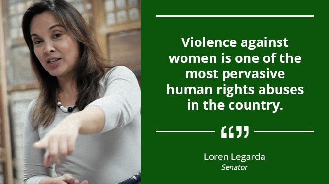 Battle to Stop Abuse Against Women and Children Far From Over – LEGARDA
