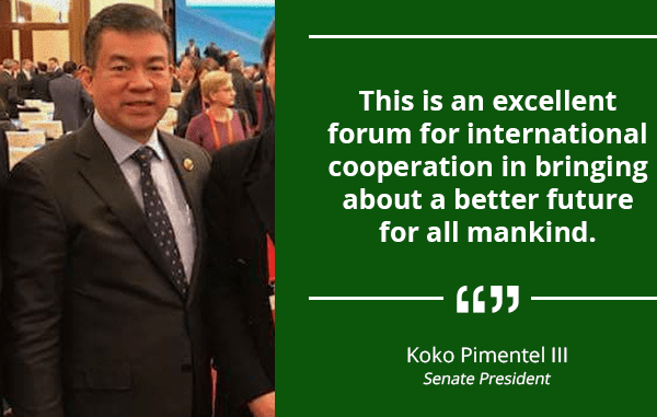120 Countries Represented in World Dialogue of Political Parties – PIMENTEL