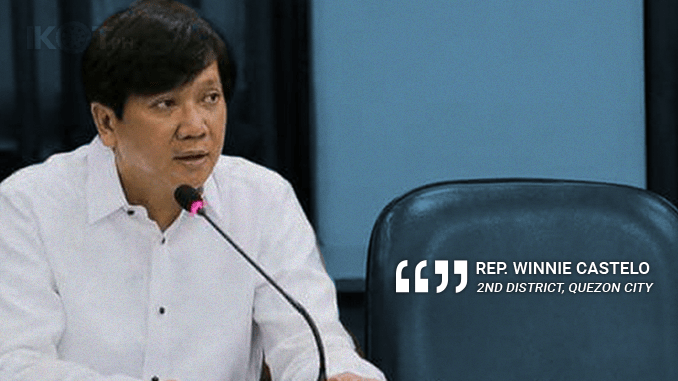 THERE SHOULD NO LONGER BE ANOTHER DEAD OFW – CASTELO