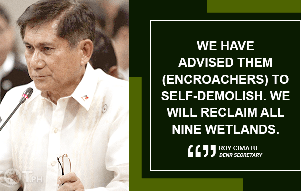 "GOVERNMENT BENT ON RECLAIMING ""MISSING"" BORACAY WETLANDS – CIMATU"