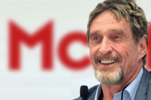 THE BIG BOUNCE BACK: THE STORY OF JOHN MCAFEE