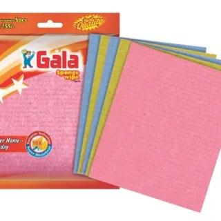 gala sponge wipe 5pcs, sponge wipe