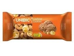 unibic cashew, biscuits kaju