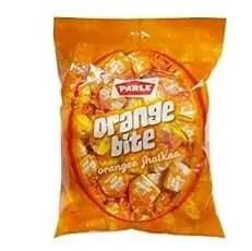 Parle orange toffee, orange bite , orange candy , orange toffee
