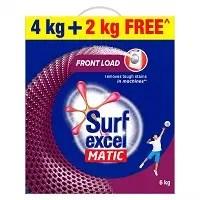 Surf excel matic powder front load 4kg + 2Kg