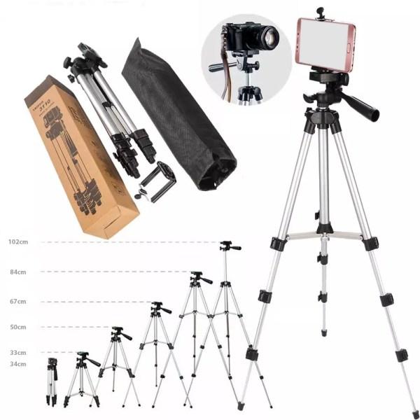 Stativ foto-aparata rasklopljen