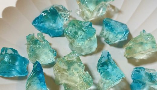 食べれる宝石「琥珀糖」の作り方