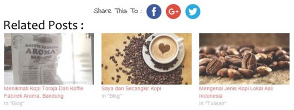 Plugin Related Posts Untuk Personal Blog