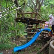 Playground di Taman Kupu-Kupu Gita Persada