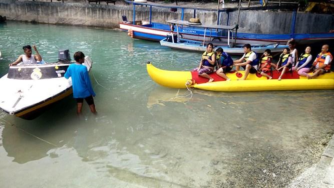 Aktifitas Wisatawan di Pulau Seribu