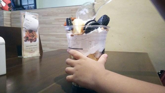Menu Vanilla Parfait di ELS Coffee Lampung
