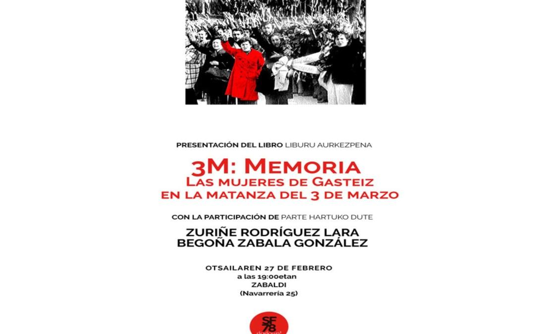 Mujeres  de  Gasteiz  en  la  matanza  del  3  de  marzo