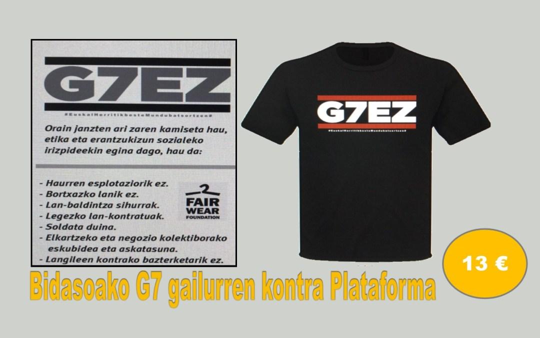G7EZ !! Kamisetak