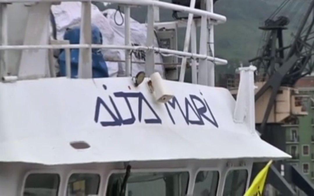 Aita Mari regresa a Lesbos