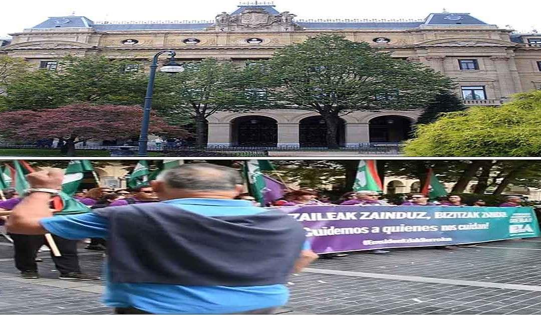Las trabajadoras de Residencias piden la mediación de Diputación