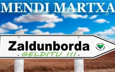 Mendi-ibilaldia ZALDUNBORDARA