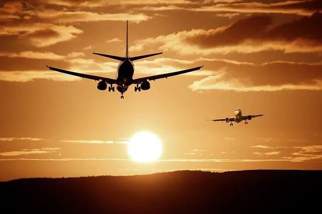 Landend vliegtuig