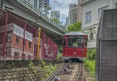 Bestemmingstips Hong Kong - peak tram
