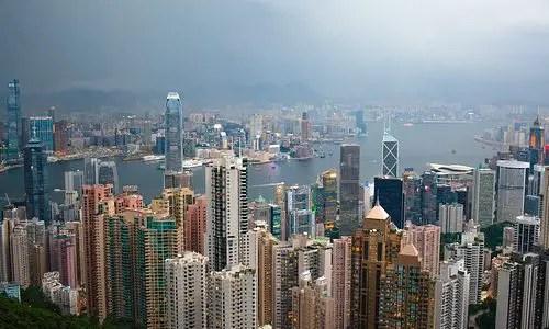 Bestemming Hong Kong