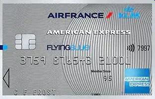 American Express Flying Blue silver credit card krediet kaart AMEX