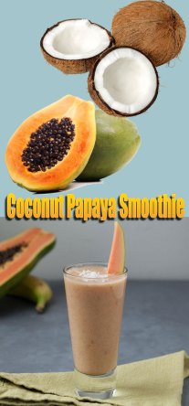 Coconut Papaya Smoothie