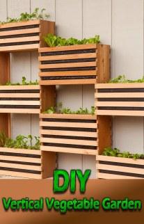 Craft Your Own Vertical Vegetable Garden