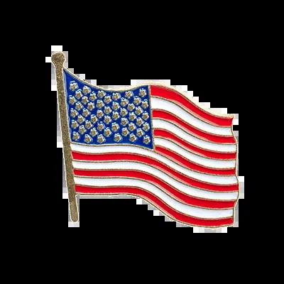 Custom Magnetic Lapel Pins American Flag Pins - iLapelPin.com Custom Lapel Pins Factory China 1