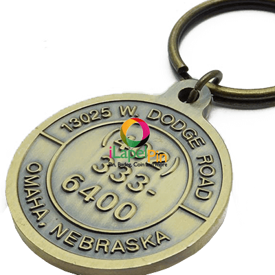 Personalised Keyrings Promotional Products - iLapelpin.com - China custom keychains Key ring Factory 1