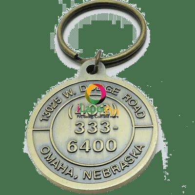 Personalised Keyrings Promotional Products - iLapelpin.com - China custom keychains Key ring Factory 3