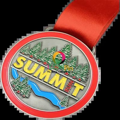 ribbon award Custom Sports Medal - iLapelpin.com - China ribbon award Custom Sports Medals Supplier 1