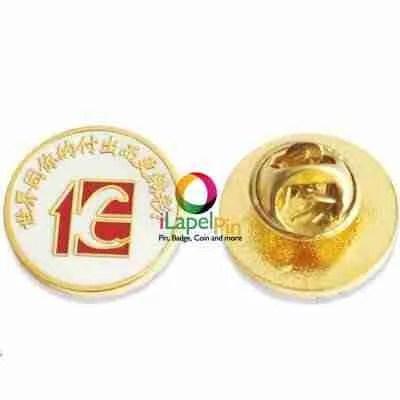gold pins custom enamel pins - iLapelpin.com 2