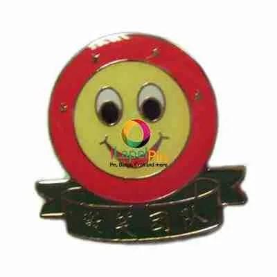 promotion enamel custom metal lapel pin badge - iLapelpin.com promotion enamel custom metal lapel pin badge 1