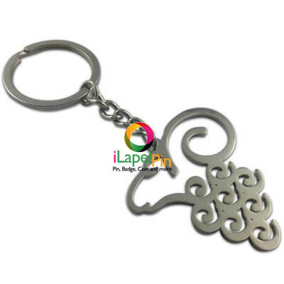 Keychain With Name China Custom Keychains Factory - iLapelPin.com 2