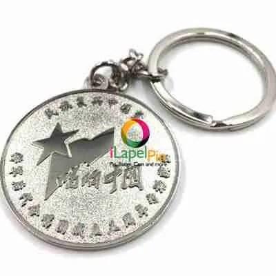 Personalised Keyrings China Custom Keychains Factory - iLapelPin.com 2