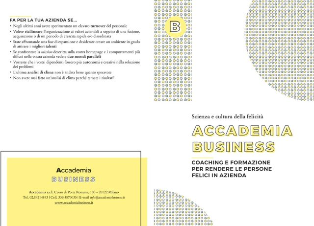 Brochure Accademia Business
